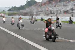ハーレーのレース
