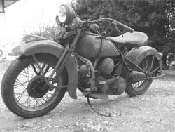 戦前のハーレー